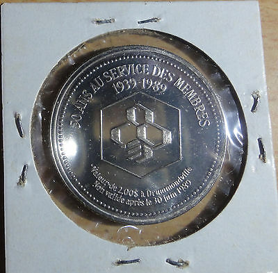 1989 Drummondville,Quebes Trade Dollar~Combined S.& H.