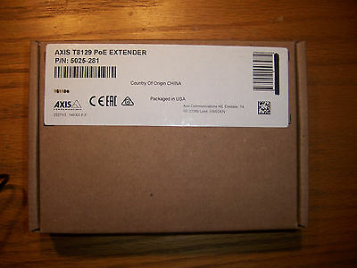 AXIS Communications 5025-281 T8129 PoE Extender - New
