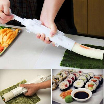 Camp Chef Sushi Roller Kit Sushi Mold Maker Bazooka Rolls Making Tool Rice