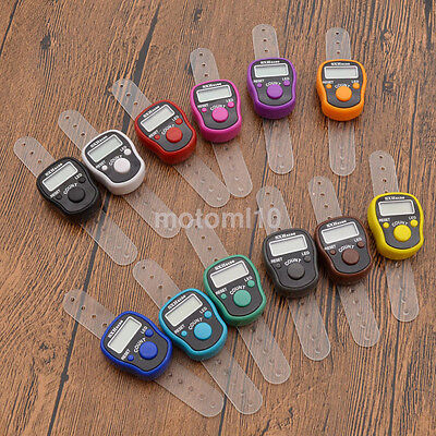 Practical Mini Digit LCD Electronic Digital Golf Finger Hand Held Tally Counter