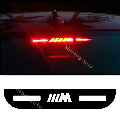 M Car Tail Stop Light Acrylic Brake lamp Cover sticker for BMW 3 E46 E90 E92 F30