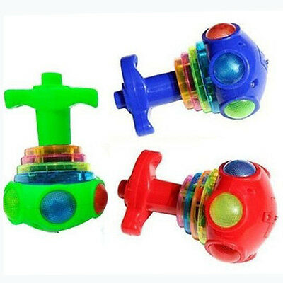 1PCS Children Toy Baby Colorful Light And Music Gyro Peg-Top Spinning Kids