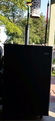 """Great Black 60"""" tall Beer Kegerator BC 1206 ( Sanyo ), A MUST HAVE!!!!!!!"""