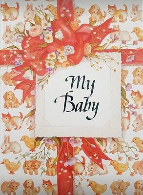 My Baby: Baby Record/Memory & Keepsake Book/ Journal