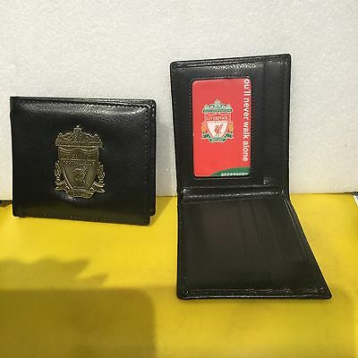 Liverpool Wallet / Purse; Excellent Design With Great Logo Badge On Front