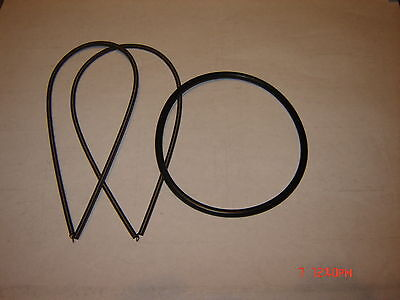 KODAK Kodascope  Model  E, EE, E-6, E-8   Projector Belts,   3 Belt Set