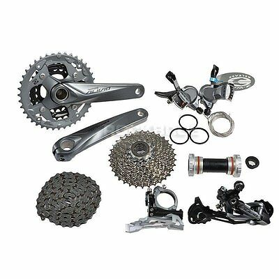 SHIMANO Alivio M4000 Groupset Group Set 9-speed 7pcs