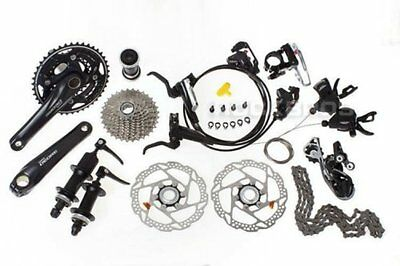 SHIMANO Deore M610 M615 MTB Groupset Group Set 10 speeds 9pcs