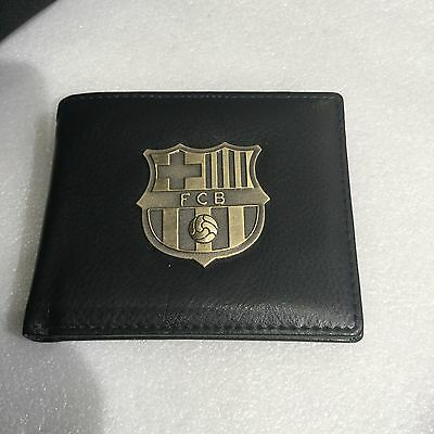 FC BARCELONA Wallet / Purse; Excellent Design With Great Logo Badge On Front