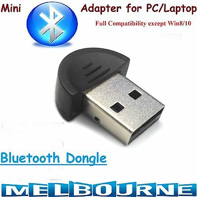 Bluetooth Dongle Wireless Adapter V 2.0 PC Laptop High Speed USB Fast Laptop #BT