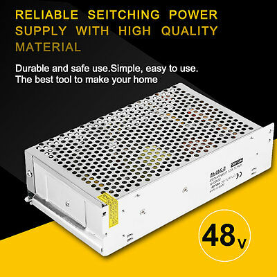 Practical DC 48V 5A Universal Regulated Switching Power Supply for Radio OK