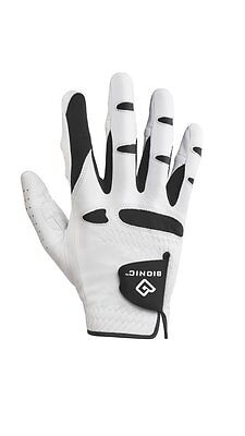 NEW 1 Bionic StableGrip Golf Gloves Men's Right Hand Color White X-Large GGNMRXL