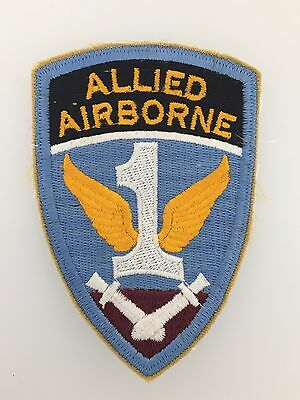 America/American WWII U.S. Army 1st Allied Airborne cloth sleeve patch