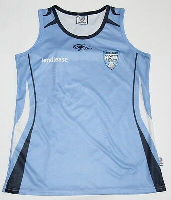 Lendlease Nsw Breakers Women's Classic Training Singlet Size 10 Rare! Cricket