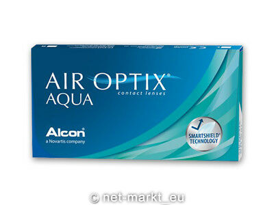Air Optix Aqua  1 x 6  Alcon Kontaktlinsen - Neu&OVP
