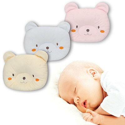 Newborn Bear Shape Pillow Baby Nursing Bassinet Cot Pillow UK