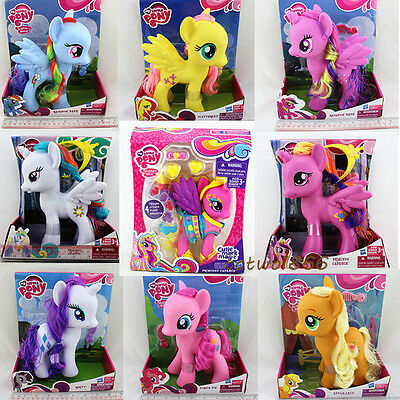 "3-8""My Little Pony Princess Luna Celes Rainbow Dush Anime Figures Doll Kids Toy"