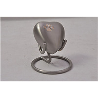 Pet Urn Heart on Stand
