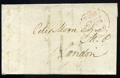 1806 Single Circle FREE 'COVENTRY/91' Mileage Double CIRCLES Rarity F