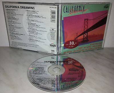 Cd California Dreaming - Hollies Cher Taylor
