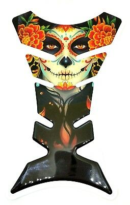 Sugar/Candy Skull Motorbike Motorcycle Tank Pad Protector - shop exclusive