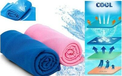 Instant Refreshing Ice-Cool Lightweight Towel for Gym-Sports-Outdoor Activities