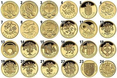 £1 One Pound Capital Cities Coin Hunt