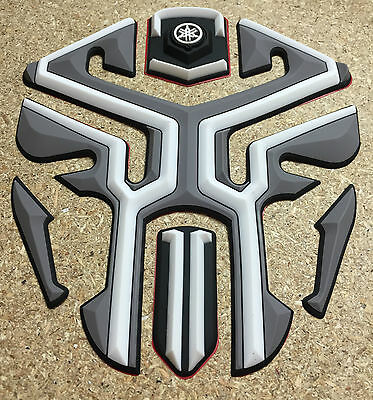 New 3D Rubber Motorbike Motorcycle Tank Pad Protector Yamaha Fazer R1 R6 Etc
