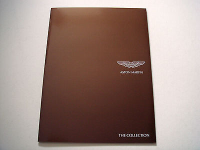 Aston Martin . The Collection . Sales Leaflet
