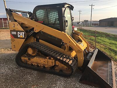 2014 Caterpillar 289D Heat/Air Backup Camera
