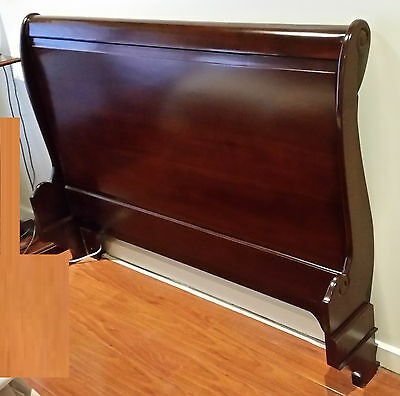 French Bed Head Queen  New Antique Reproduction