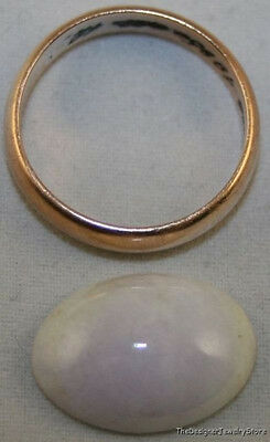 Natural White Jade Loose Gemstone 12X17Mm Cabochon 9.4Ct Gem Ja14