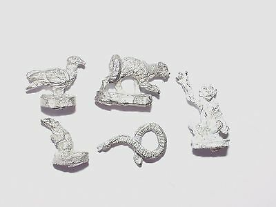 Ral Partha 28Mm Animals X 5. Oop