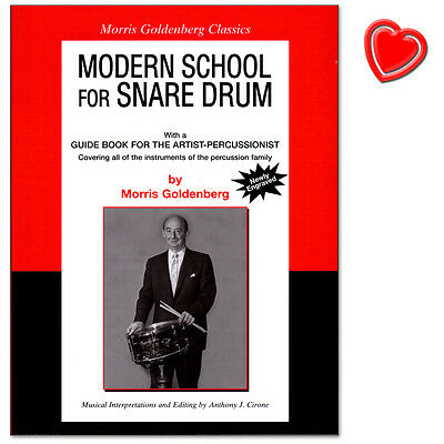 Modern School for Snare Drum - Morris Goldenberg - Alfred Music - 9780757909061