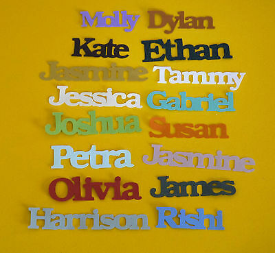 Personalised Table Confetti Any Name 100 Pieces Birthday Party Celebration Singl