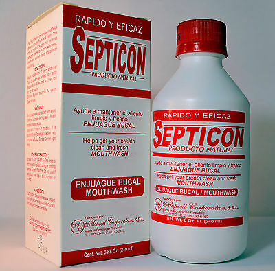 Septicon Mouthwash 8 Fl. Oz.