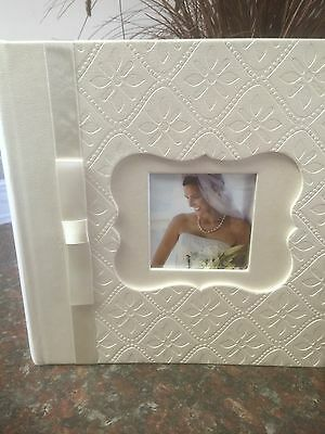 Photo Album,Leatherette,Holds 160 4x6. Elegant Look, Great for wedding Photos