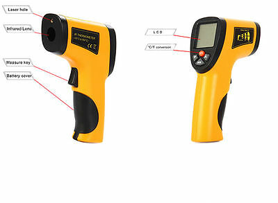 Non-Contact Digital Infrared IR Thermometer Temperature Laser Gun
