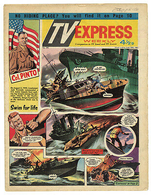 TV Express Weekly No 345 June 10 1961 comic COL PINTO BIGGLES