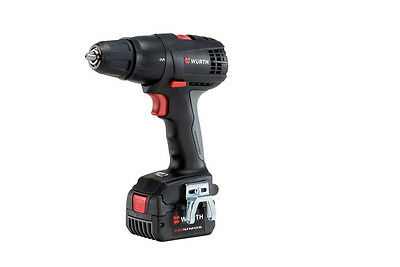 Genuine Wurth CORDLESS DRILL SCREWDRIVER BS 14V BS COMPACT 4AH LED Lamp