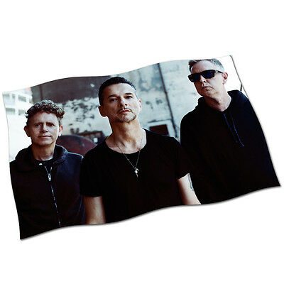 """Depeche Mode Flag Banner 30"""" NEW DM People Are In Your Room It's No Good Heaven"""