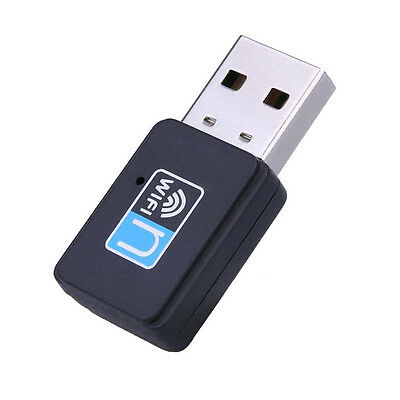 300Mbps Mini Wireless USB Wi-fi Wlan Adapter 802.11 b/g/n Network LAN Dongle