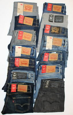 Levi's 511 Men Wash Slim Jeans W28-42in L29-36 RRP £95 *ClearOut Sale*