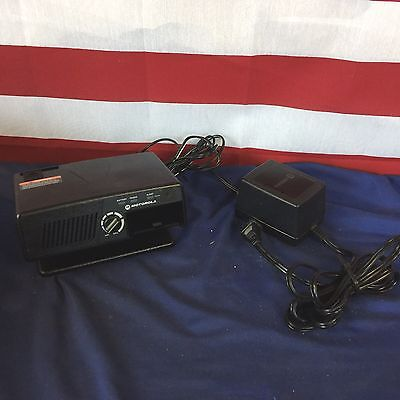 Motorola Minitor V (5) Fire EMS Pager Amplified Charger with Power Supply
