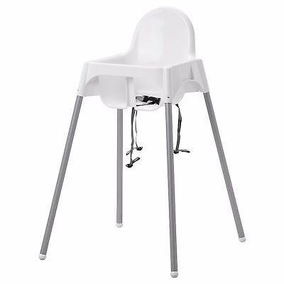 BABY HIGHCHAIR WITH SAFETY STRAPS  IKEA ANTILOP BABY HIGH CHAIR Brand new