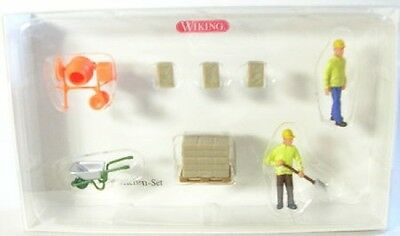 Construction Site Set with figurines and Accessories
