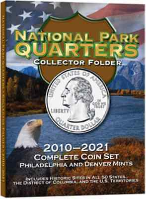 H.E. Harris National Park Quarters, Collectors Folder P & D, 2010-2021