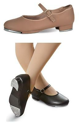 NEW Dance Shoes Mary Jane Tap Black & Tan - LOTS OF SIZES - Closeout prices