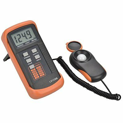 TekPower LX1330B Digital Illuminance Light Meter, 0 - 200,000 Lux Luxmeter