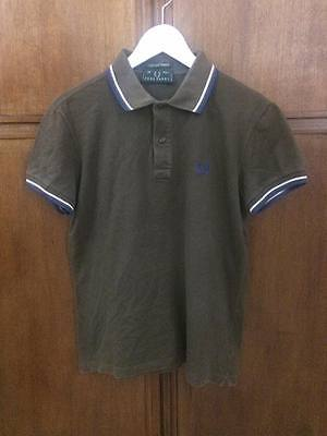 polo FRED PERRY tgl 40  102cm maglia vintage Shirt Jersey Tricot